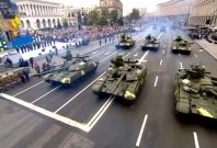 Ukraine holds military parade to mark 25th anniversary of independence from Russia