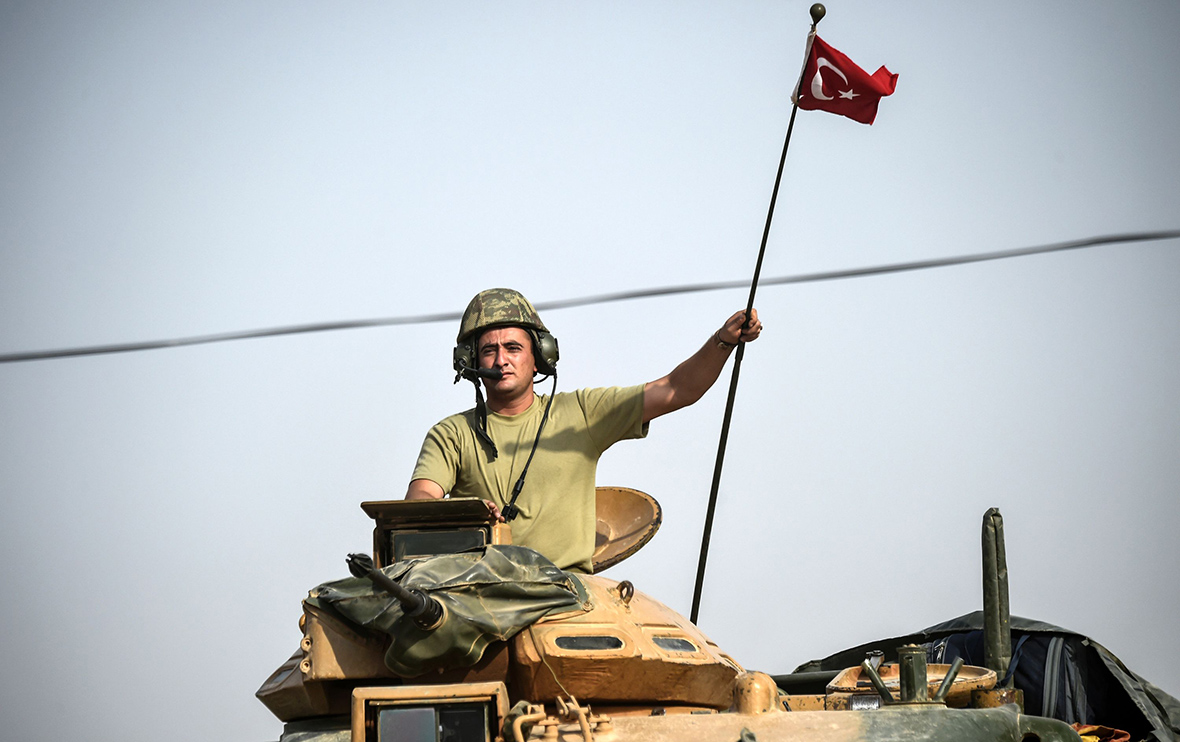 Turkey Syria border