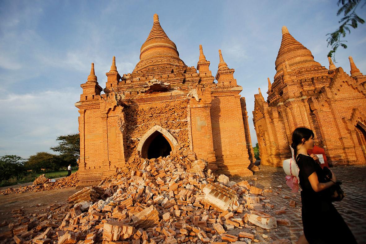 Bagan Myanmar earthquake
