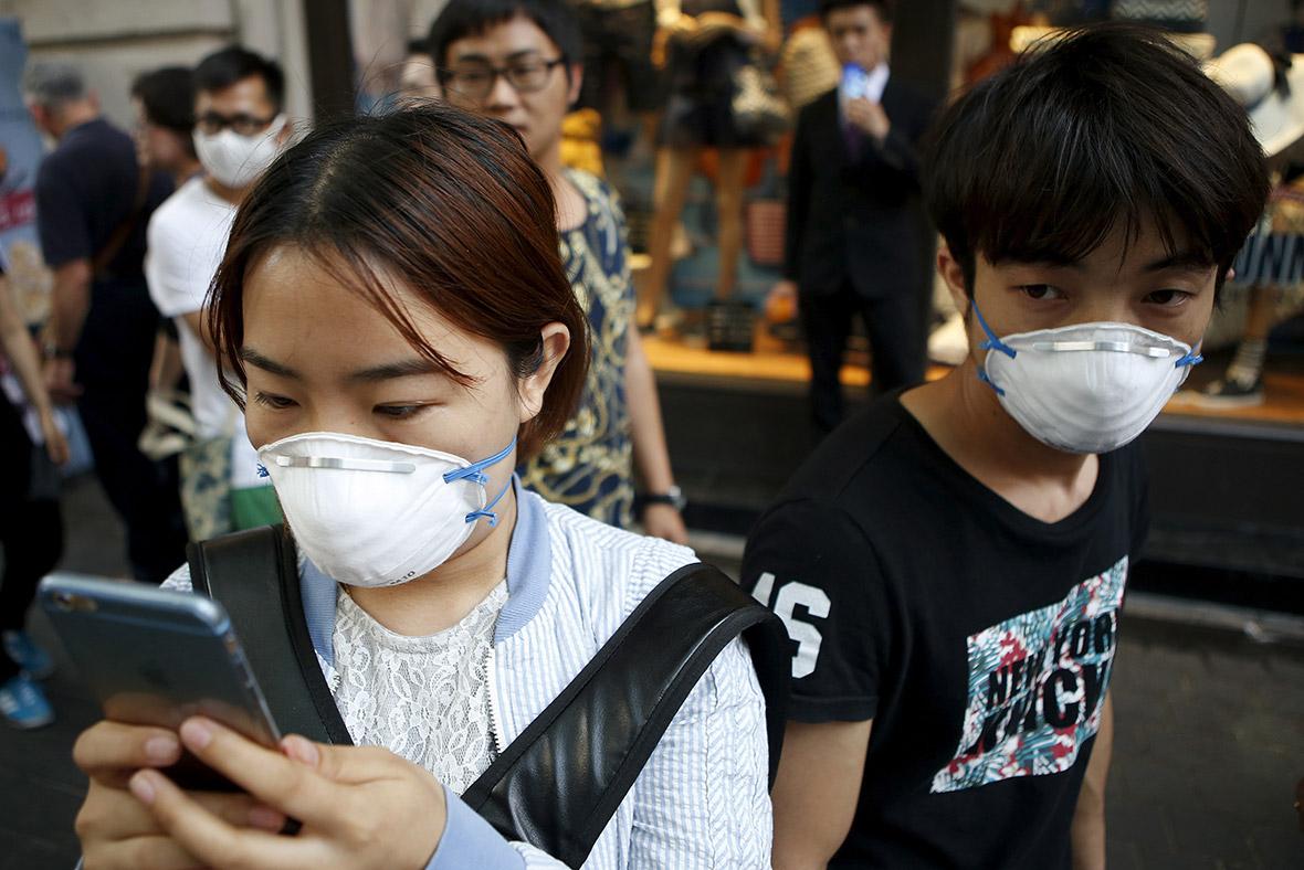 Korea health masks MERS