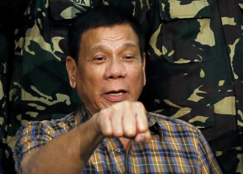 Philippines President Rodrigo Duterte abu sayyaf