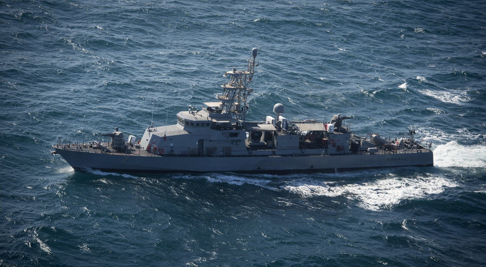 Iranian Islamic Revolutionary Guard boats taunt United States warship - because they can