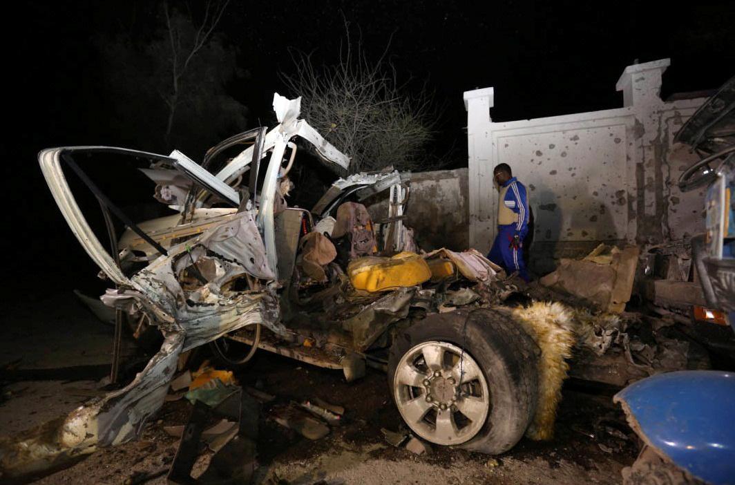 Somalia blast lido beach