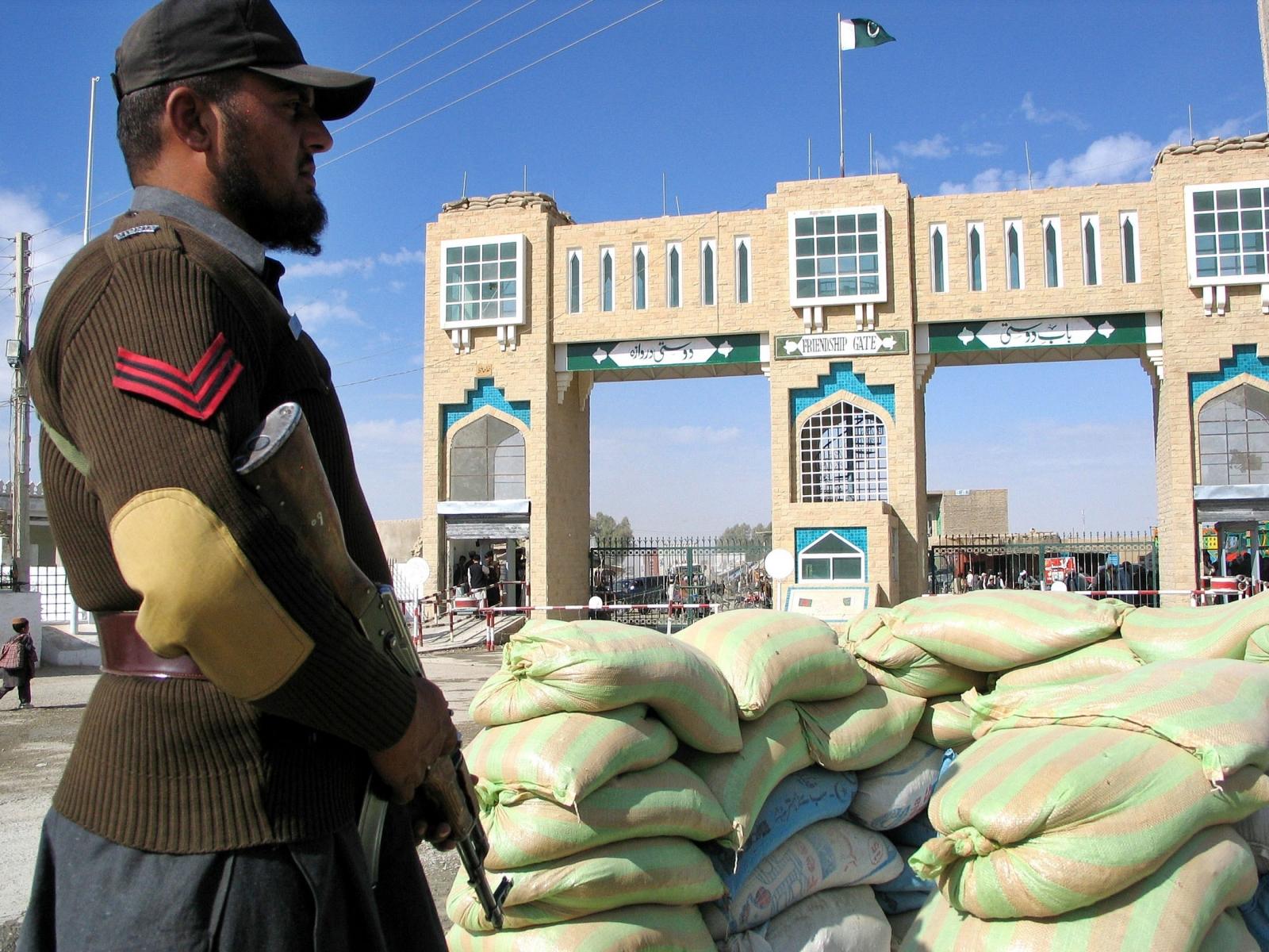 Pakistan-Afghanistan border
