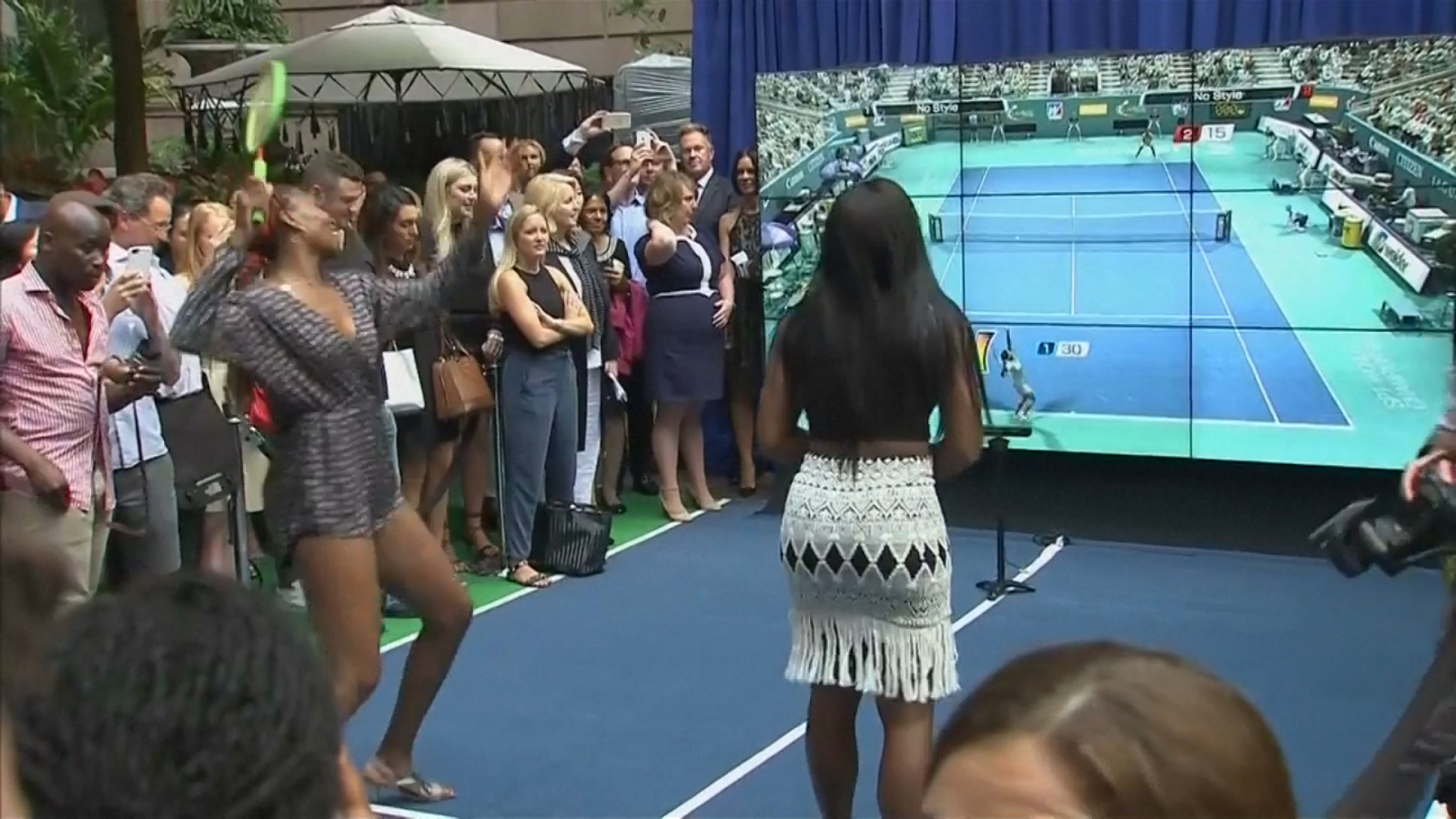 US Open 2016: Venus and Serena Williams go head-to-head on Virtual Tennis 4