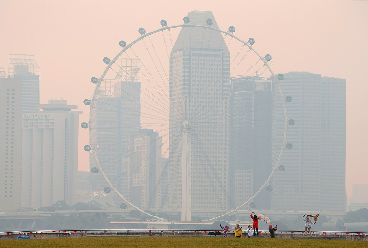 Singapore haze indonesia fires pollution