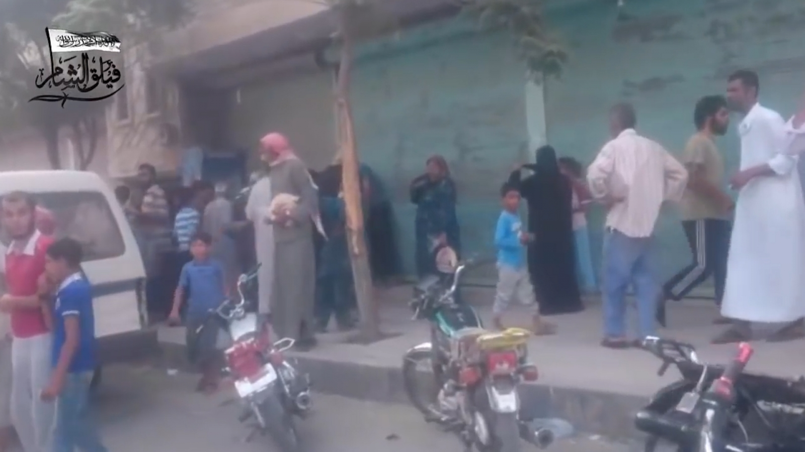 Residents allowed back into Jarabulus after Isis were removed
