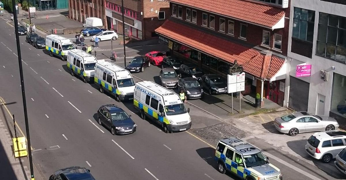 Counter terrorism police arrest five men inBirmingham