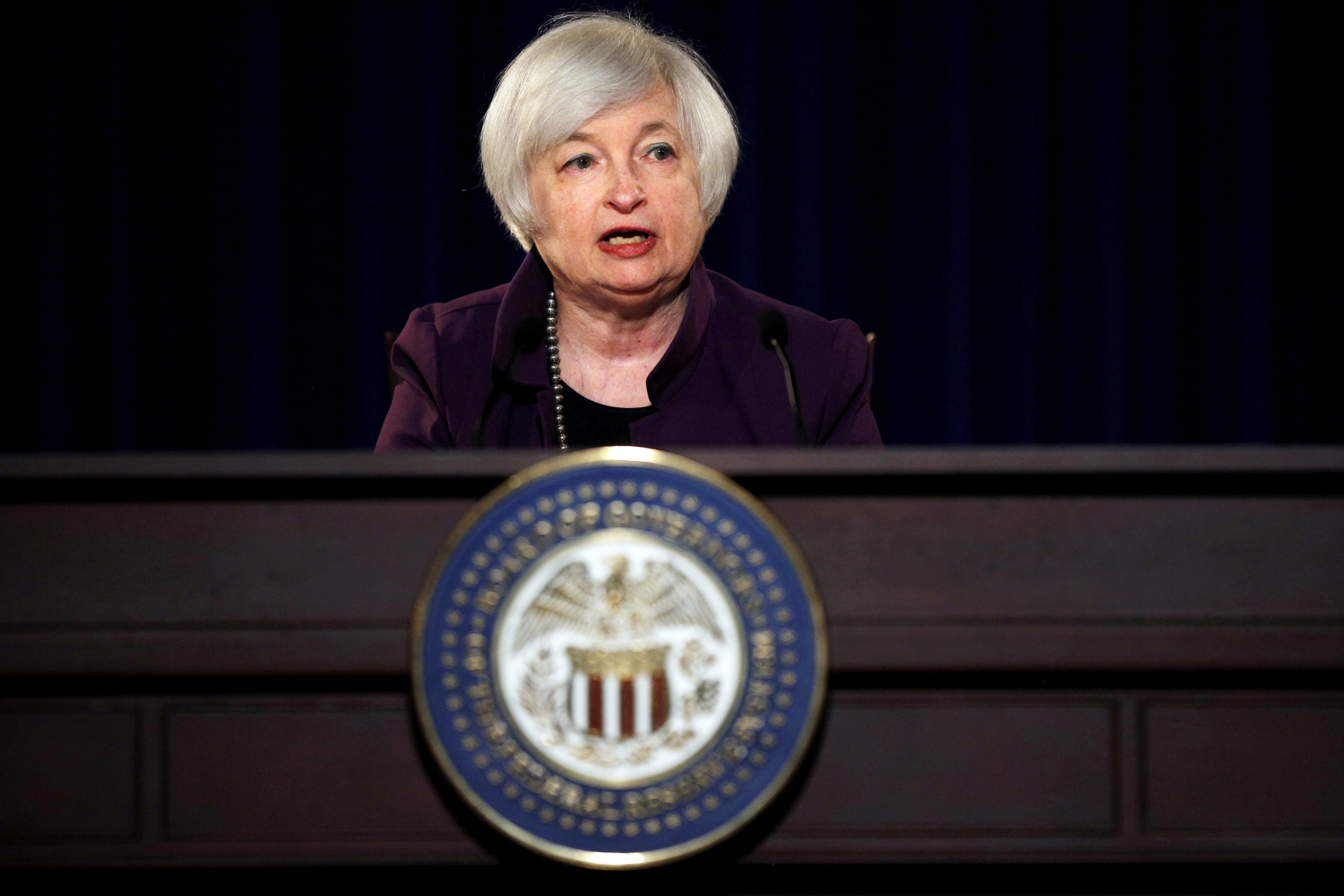 US Fed Chair Janet Yellen says the case for increasing rates has 'strengthened 'in recent months'
