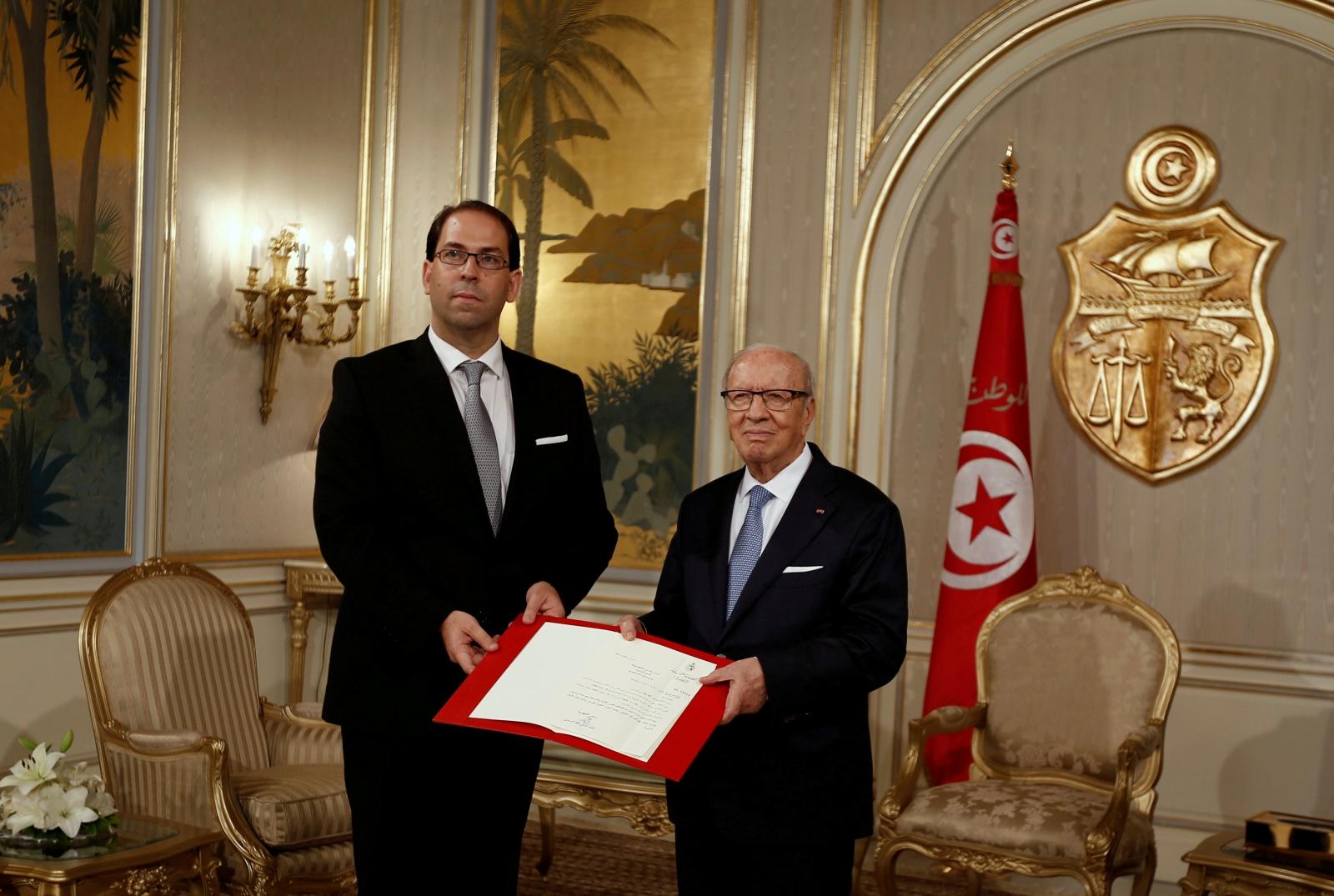 Tunisia's new cabinet