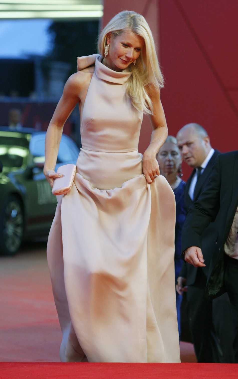 Actress Paltrow arrives on the quotContagionquot red carpet at the 68th Venice Film Festival