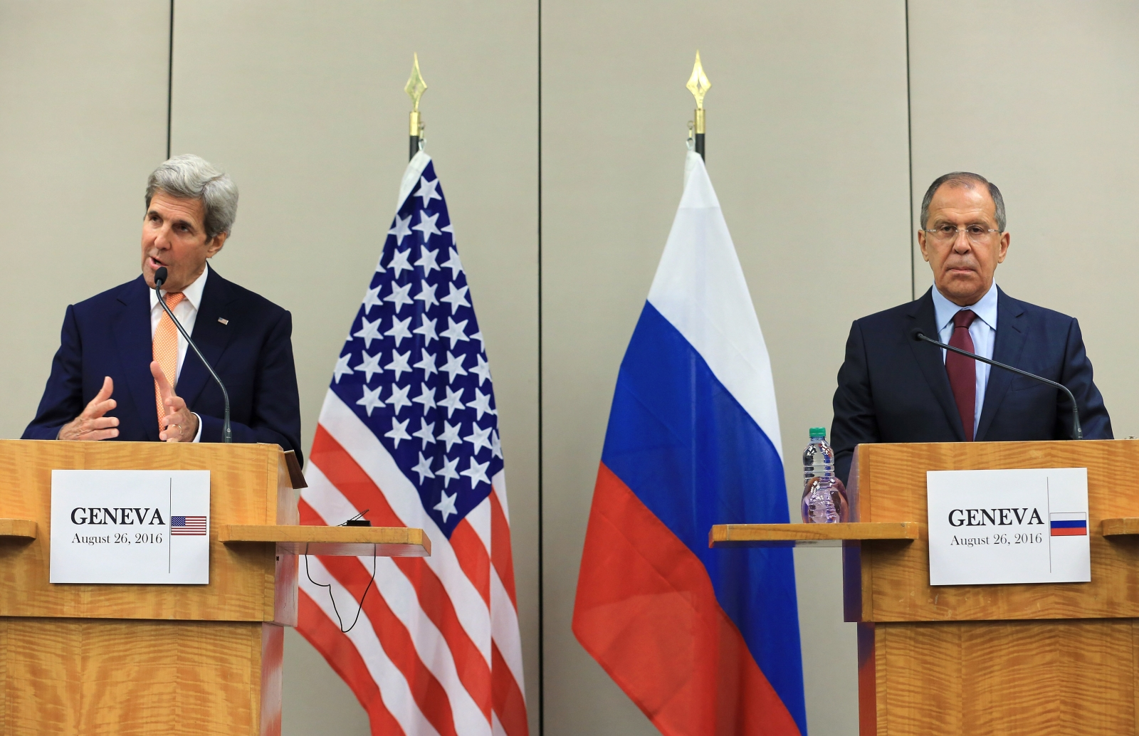 Lavrov, Kerry begin talks in Geneva