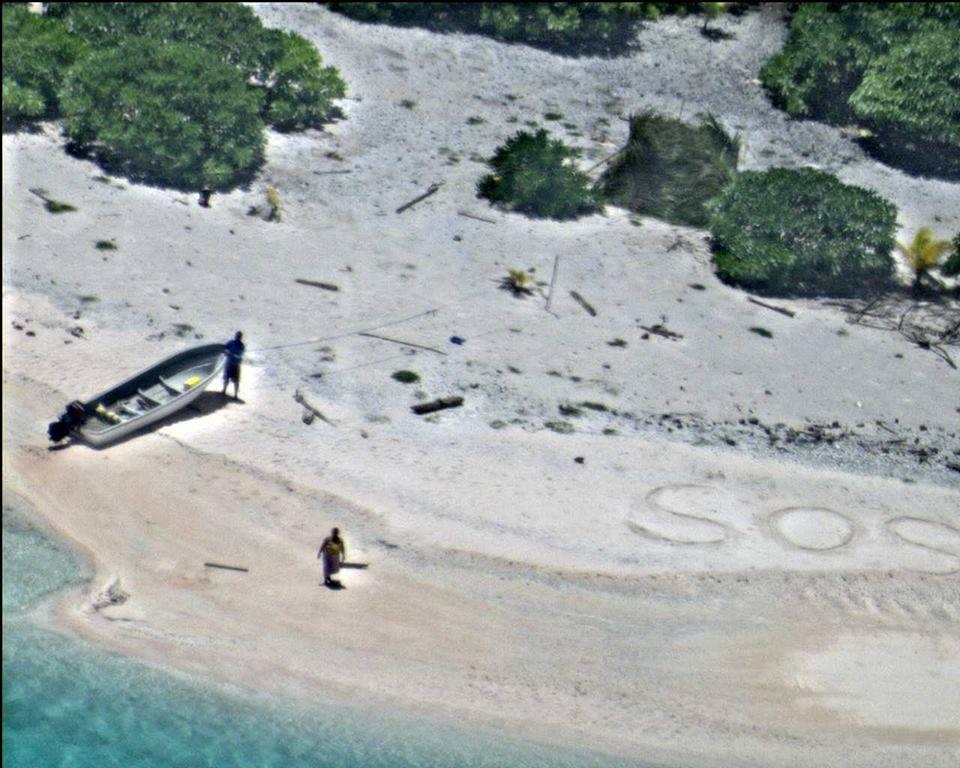 Linus Sabrina Jack rescue SOS Micronesia