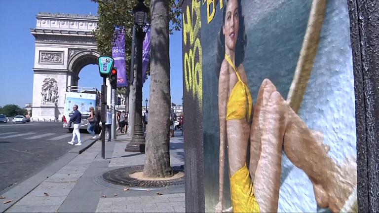 France: As burkini row rages Paris celebrates 70th anniversary of the bikini