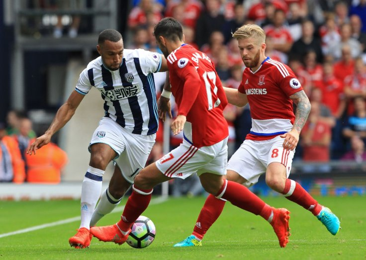 West Brom vs Middlesbrough
