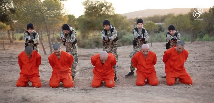 Isis child executioners