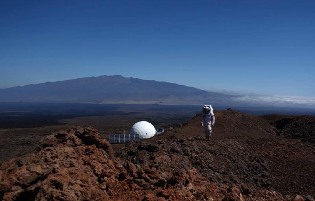 Mission to Mars on Hawaii