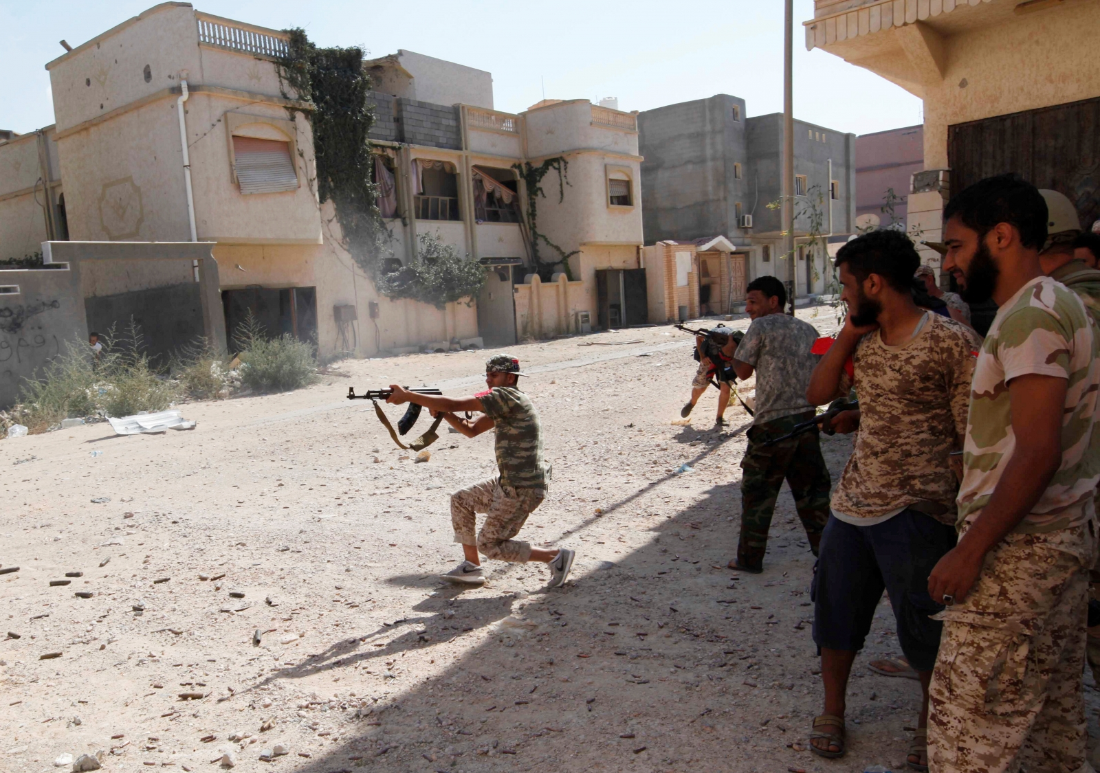 Isis Sirte offensive