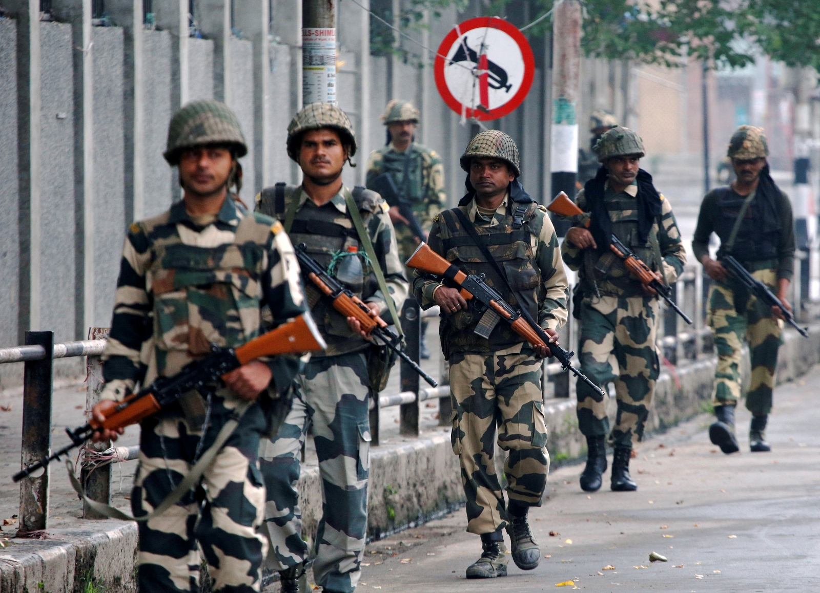 Indian Border Security Force soldiers