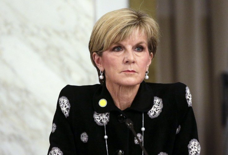 Australia Foreign Minister Julie Bishop
