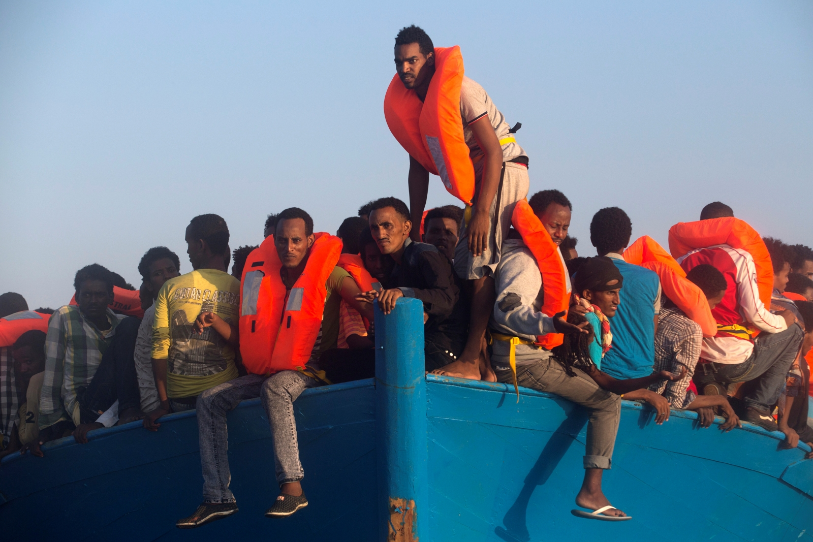 Migrants from Eritrea