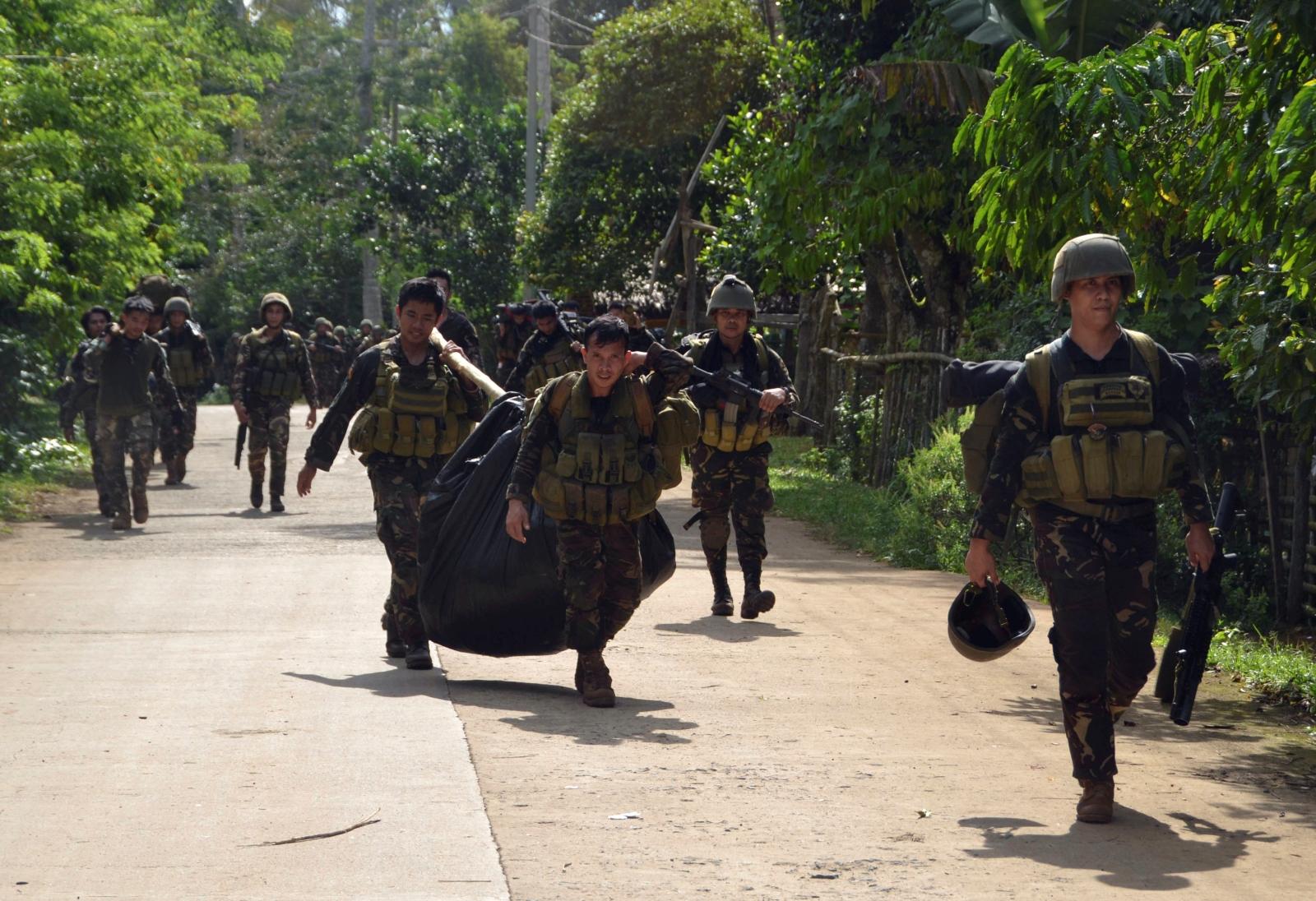 Philippines army abu sayyaf clashes