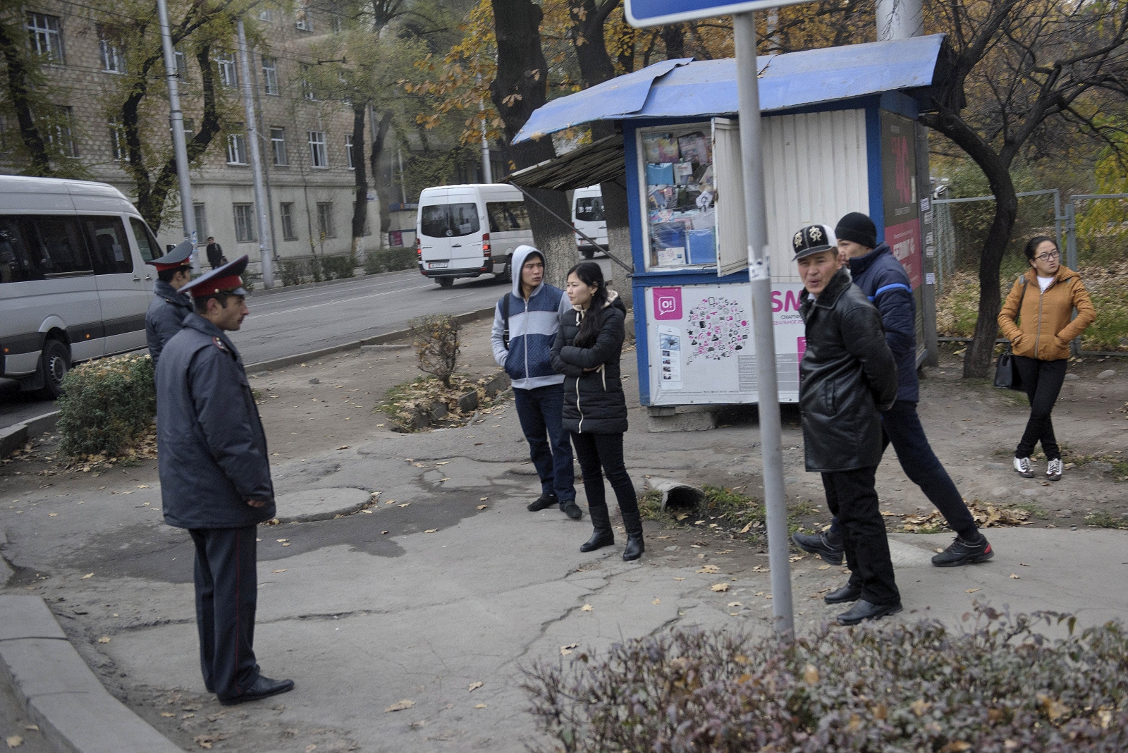 Chinese embassy blast in Kyrgyzstan