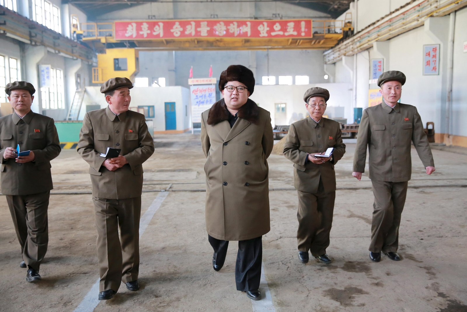 North Korea nuclear soldiers