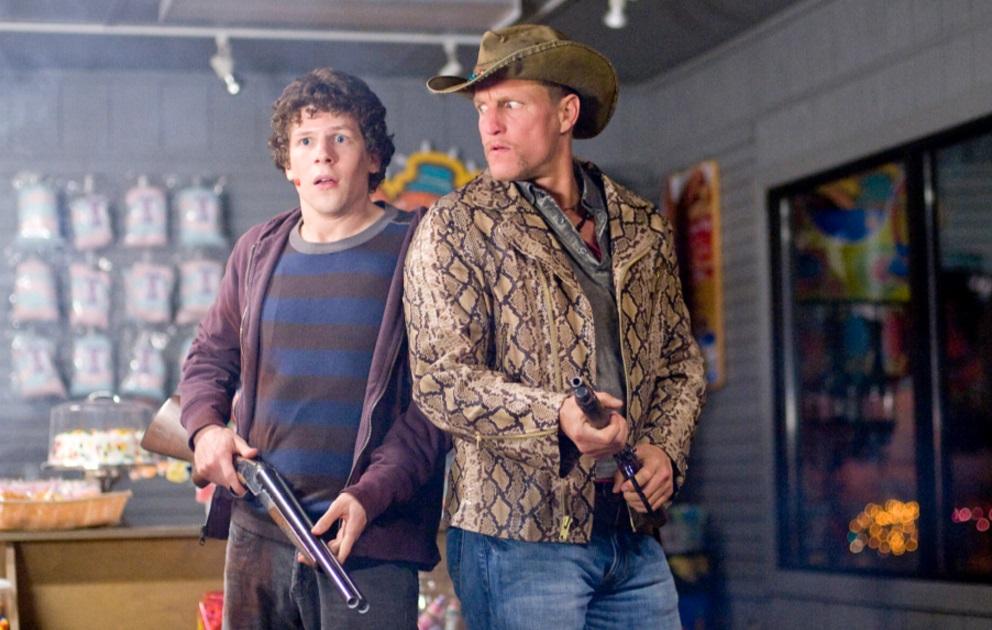 Woody Harrelson and Jesse Eisenberg