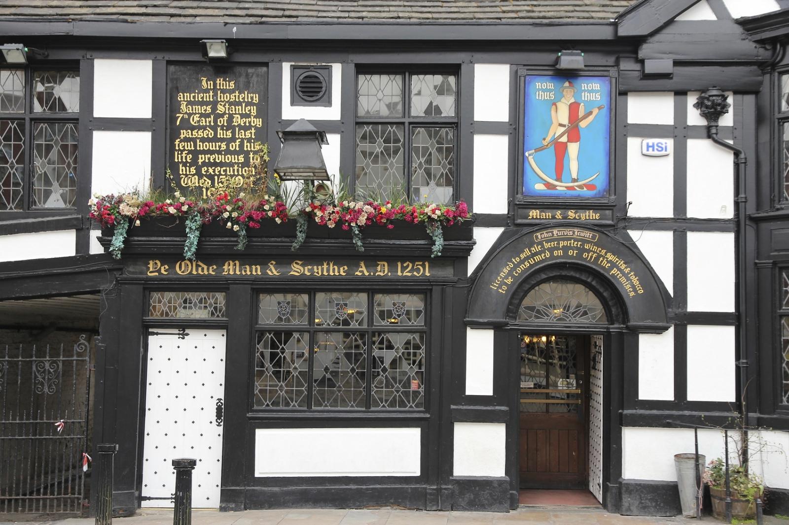 Ye Olde Man & Scythe in Bolton