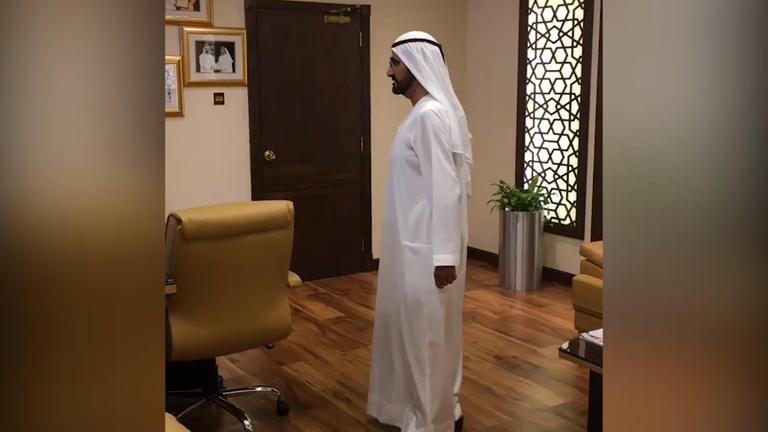 UAE ruler sacks staff after arriving at office and finding it empty