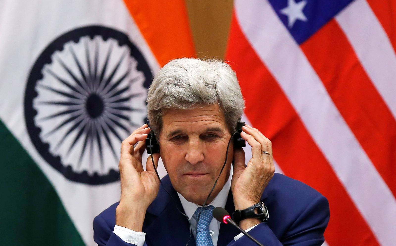 John Kerry in India