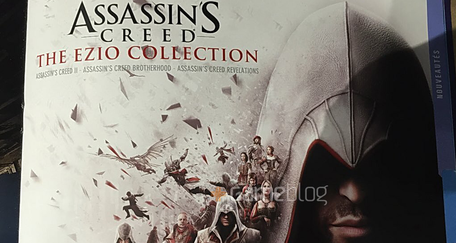 Details and promo art for Assassin's Creed: The Ezio Collection leak