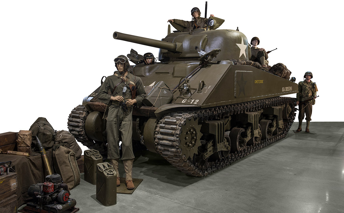 Normandy Tank Museum sale of World War Two vehicles and D
