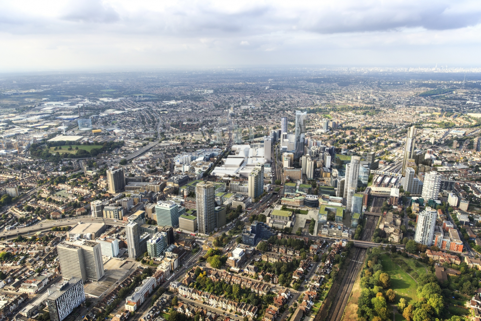 Croydon 2020 regeneration London borough
