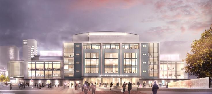 Croydon Fairfield Halls London regeneration