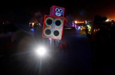 Burning Man festival 2016