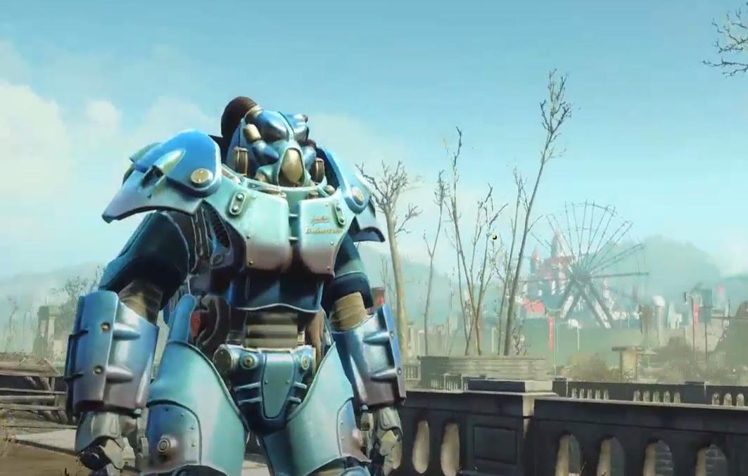 Fallout 4 Nuka World Quantum Power Armor