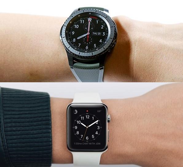 galaxy gear vs apple watch
