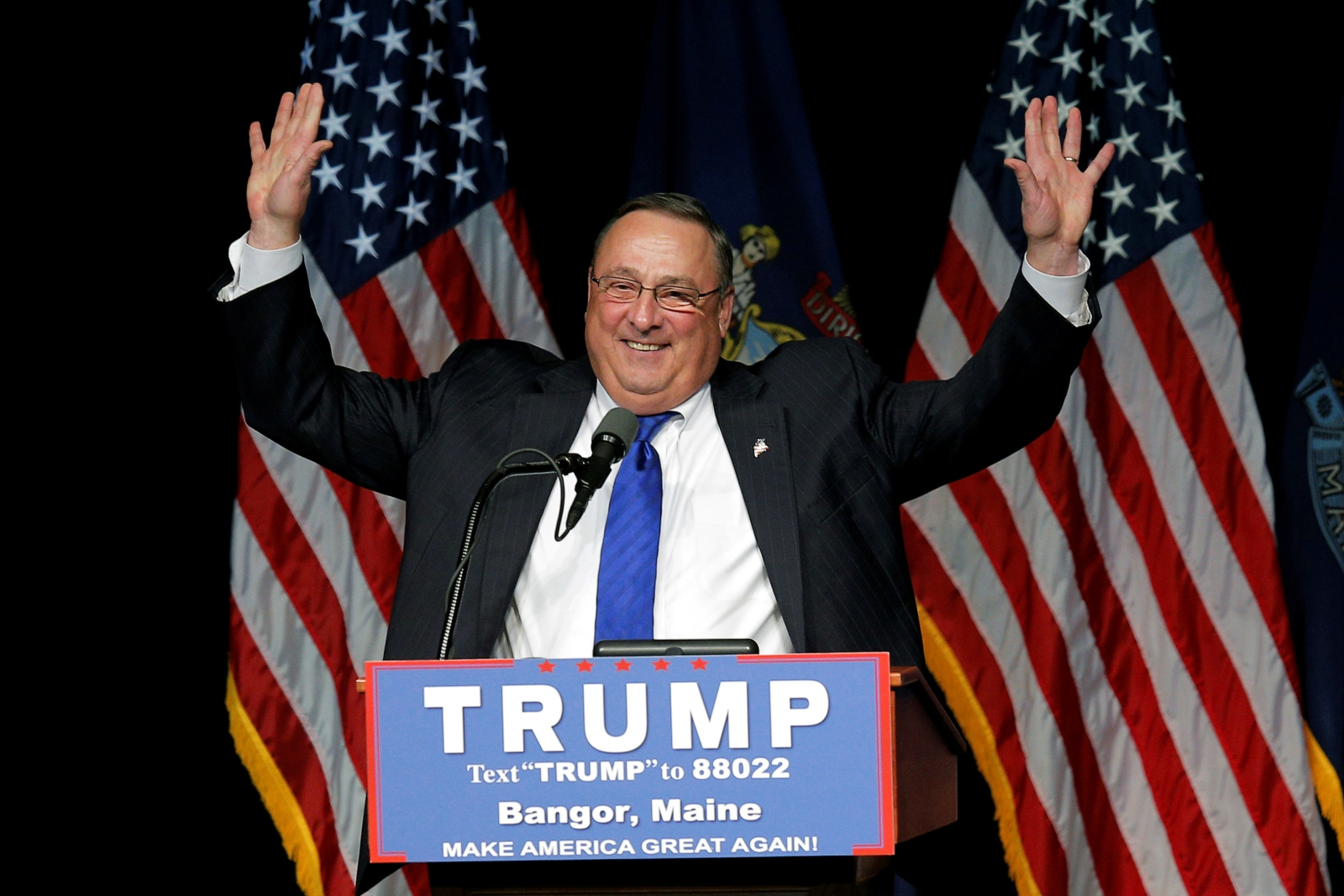 Maine Governor Paul LePage