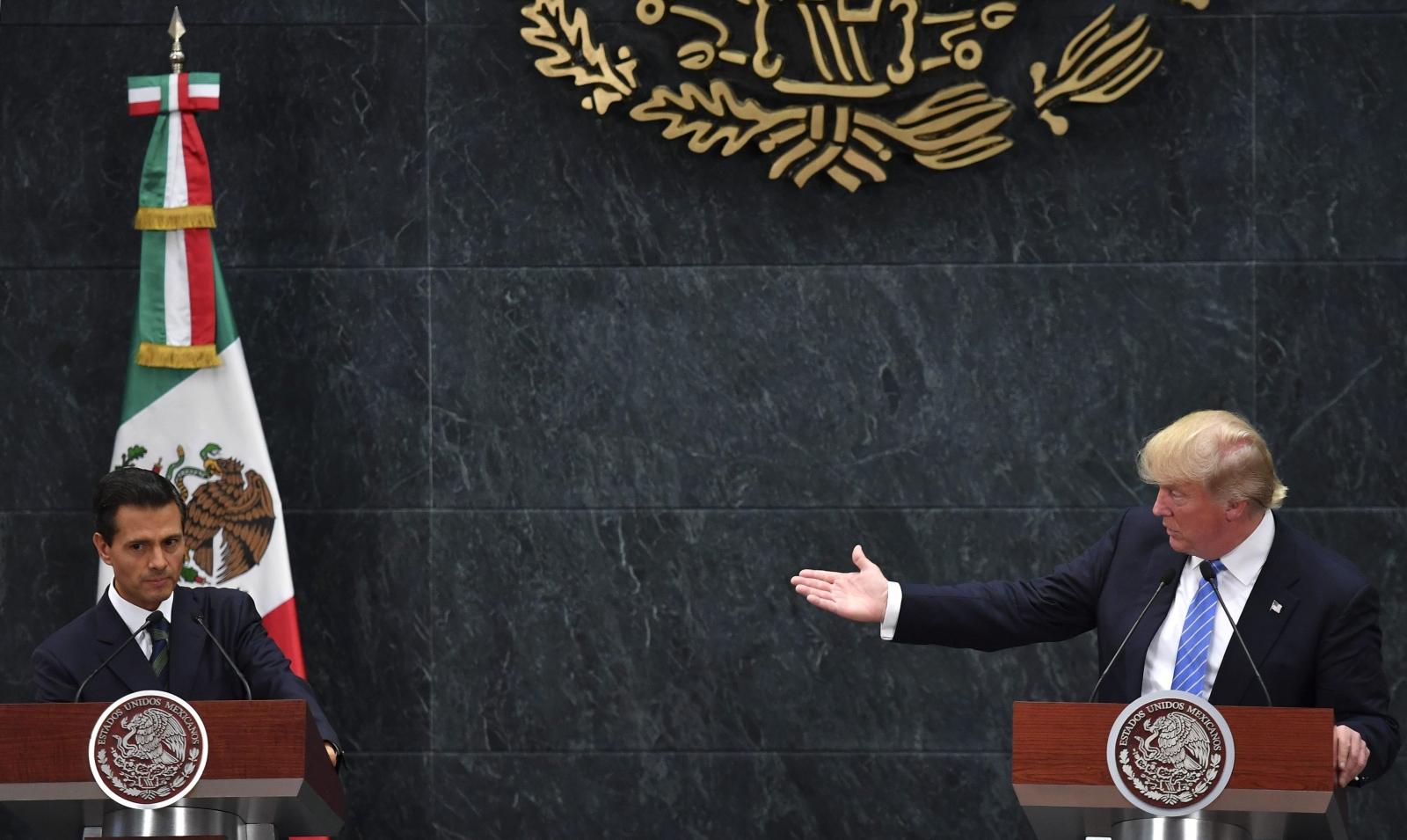 Donald Trump in Mexico