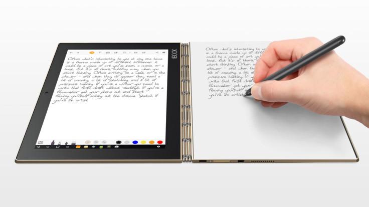 The Lenovo Yoga Book Android