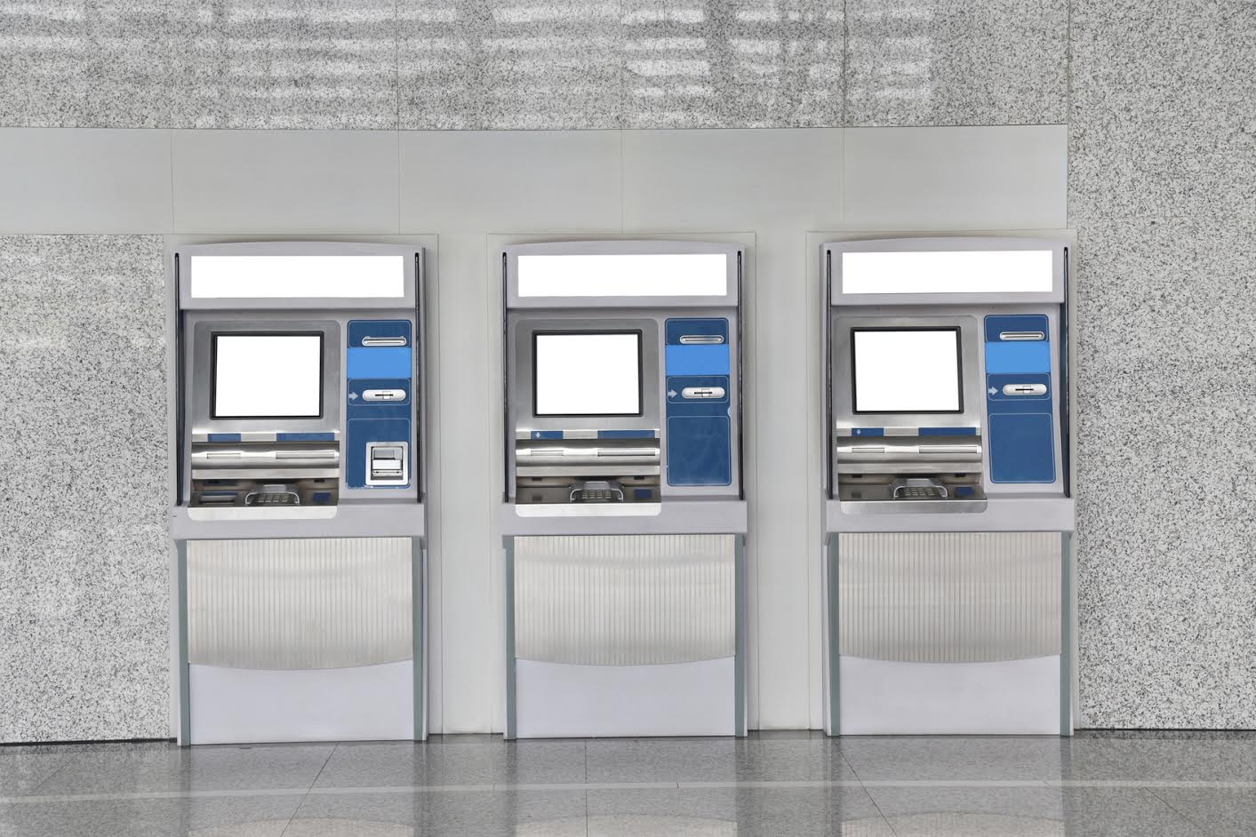 ATM cash machines