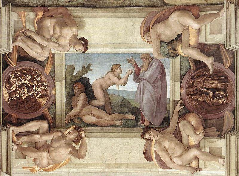Sistine Chapel ceiling Michelangelo
