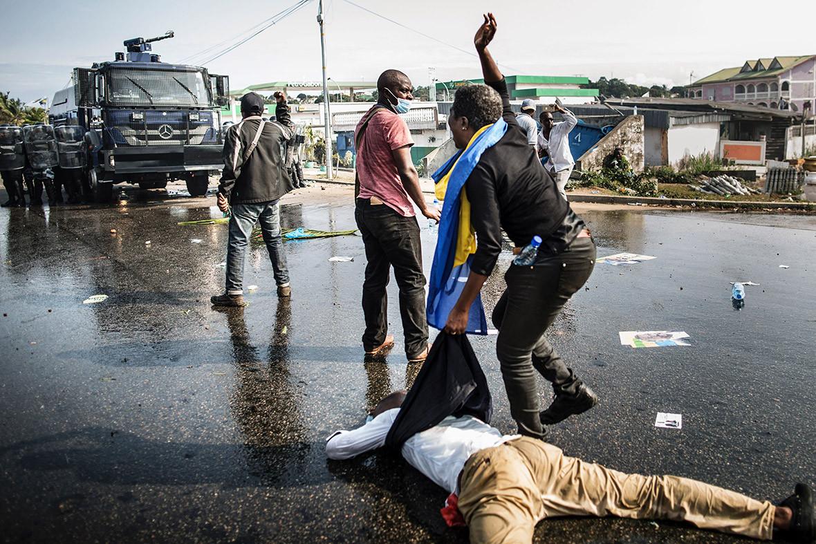 Gabon elections violence