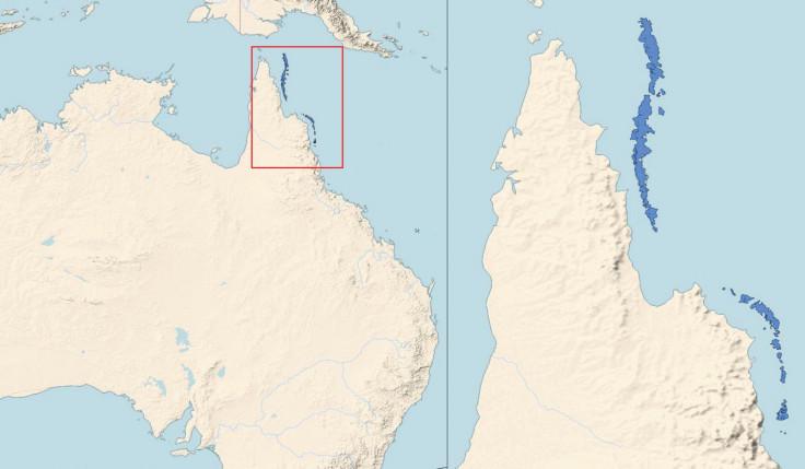 great barrier reef hidden mounds
