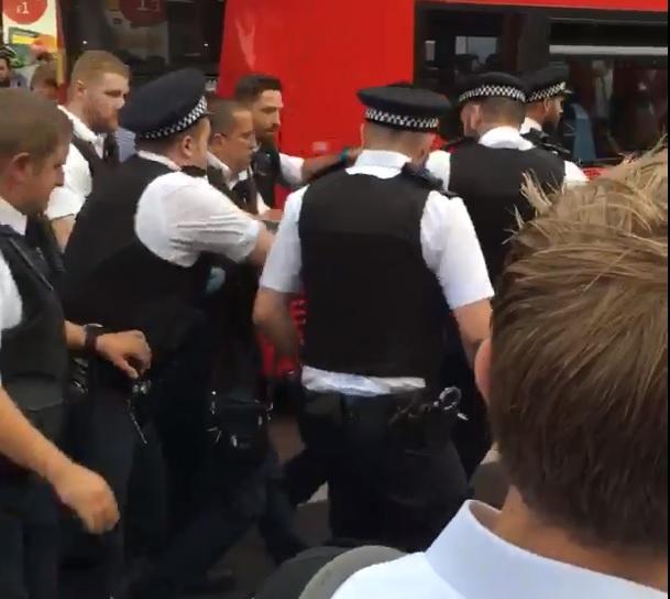 Brixton arrest