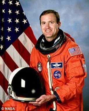 Astronaut James Halsell