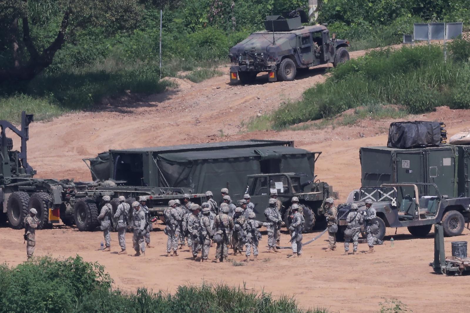 US South Korea military drills, North Korea