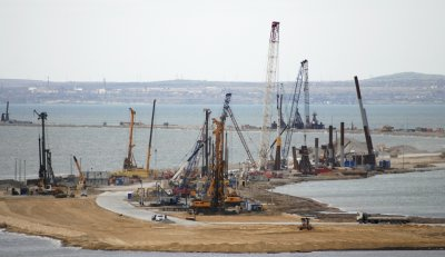 Kerch Strait aka Putin Bridge